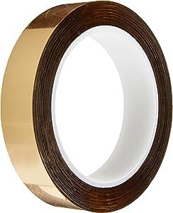 "CS Hyde 24-MF Gold Metallized Mylar Tape, 0.875"" x 36 Yards,24-MF-GOLD-.875-36"