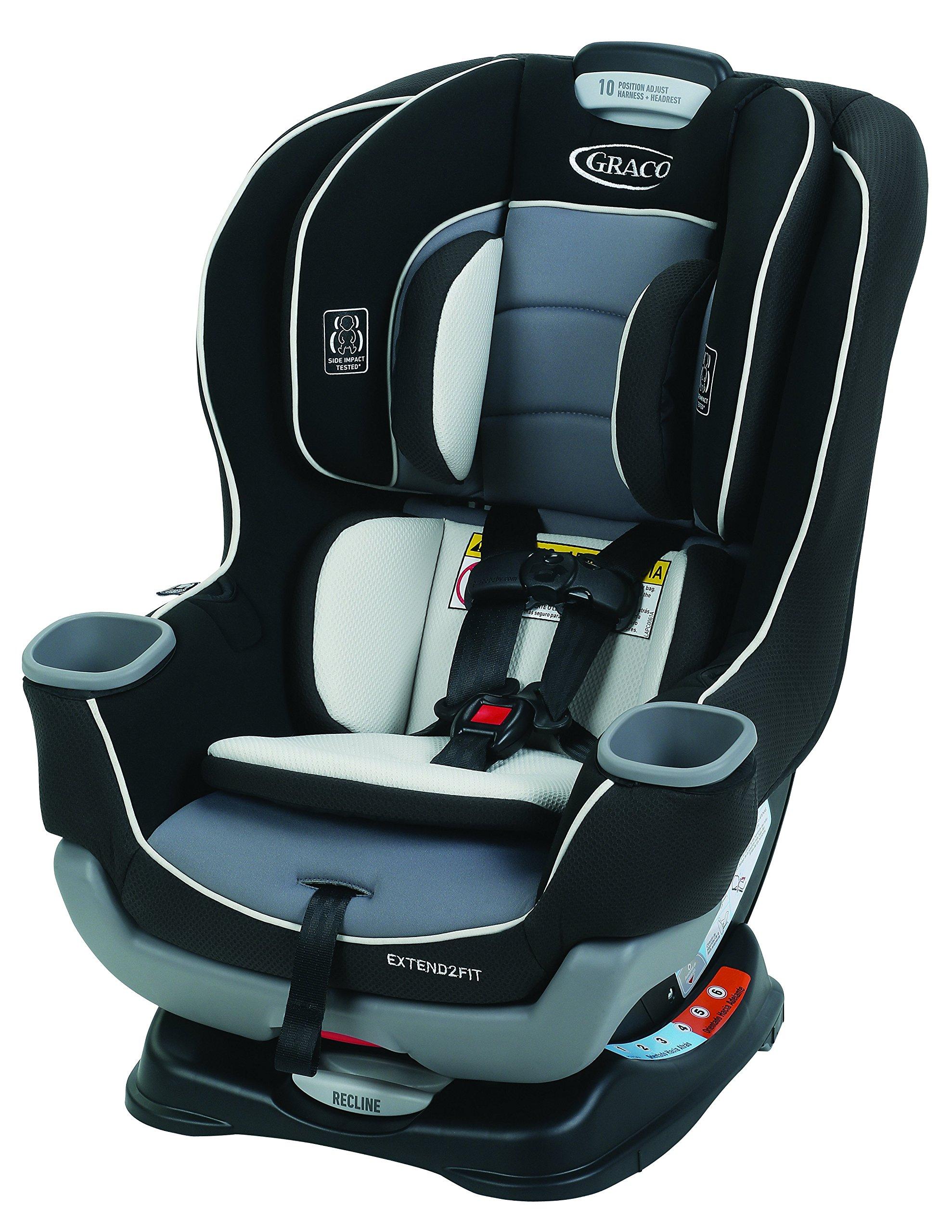 Graco Extend2Fit Convertible Car Seat Gotham  sc 1 st  Amazon.com & Amazon.com : Graco Atlas 65 2-in-1 Harness Booster Car Seat Nyssa ... islam-shia.org