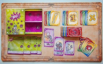Tranjis Games - Virus! - Juego de cartas (TRG-01vir): Amazon.es: Juguetes y juegos
