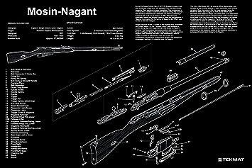 amazon com ultimate arms gear mosin nagant gunsmith armorer s rh amazon com mosin nagant rifle parts diagram mosin nagant parts diagram