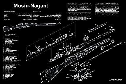 amazon com ultimate arms gear mosin nagant gunsmith armorer s rh amazon com mosin nagant m44 parts diagram Mosin Nagant Surplus Parts