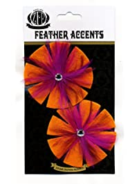 Zucker Feather Products Felt Rooster Hackle Shoe Clip