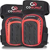 COGURD Professional Gel Knee Pads for Work Construction, Gardening, Cleaning, Flooring and Garage - Heavy Duty Support Kneepa