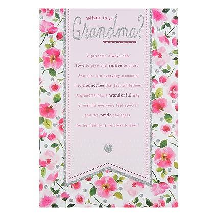 Tarjeta de cumpleaños para abuela Hallmark