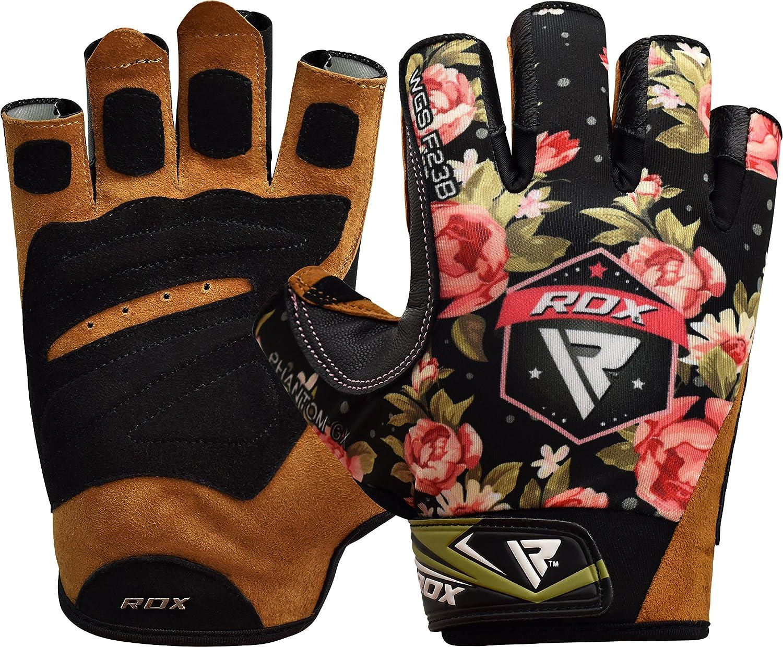 MEHRWEG RDX Fitness Handschuhe Damen Trainingshandschuhe Frauen Handgelenkst/ütze Sporthandschuhe Gewichtheben krafttraining Workout Bodybuilding Gym Gloves