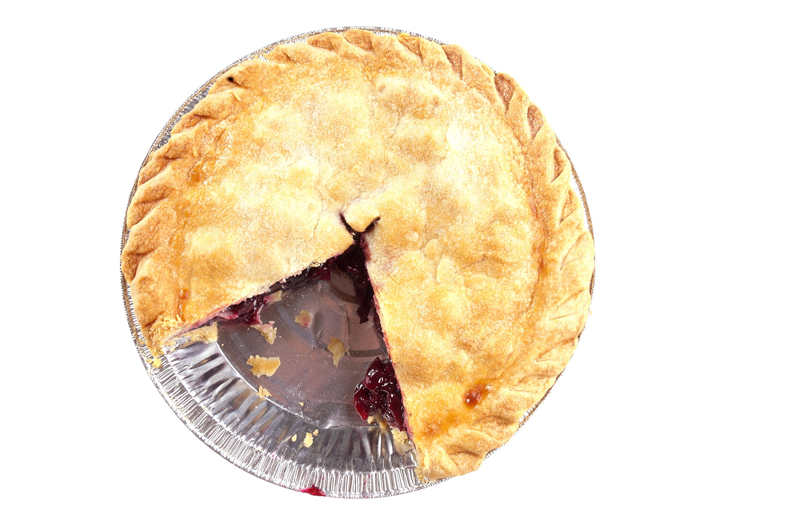 Premium 9'' Aluminum Foil Pie Pans. Disposable Tin Plates for Pies Tart Quiche. (Pack of 50) by Gypsy's Cart (Image #7)