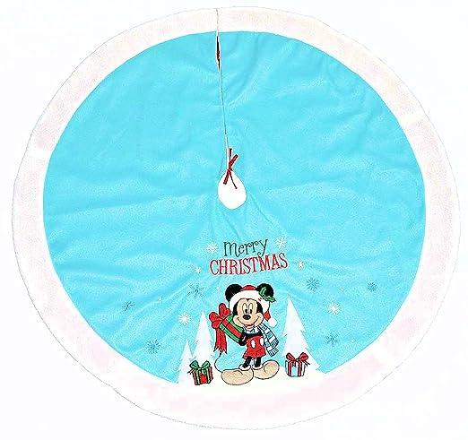 Disney Mickey Mouse Base de árbol de Navidad, color azul: Amazon ...