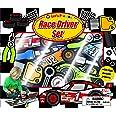 Let's Pretend Race Driver Set: With Fun Puzzle Pieces
