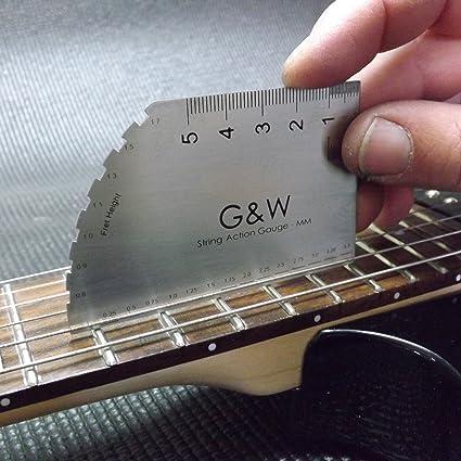 Cuerdas para guitarra eléctrica de gran calibre de acción - MM