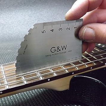 Cuerdas para guitarra eléctrica de gran calibre de acción - MM: Amazon.es: Instrumentos musicales