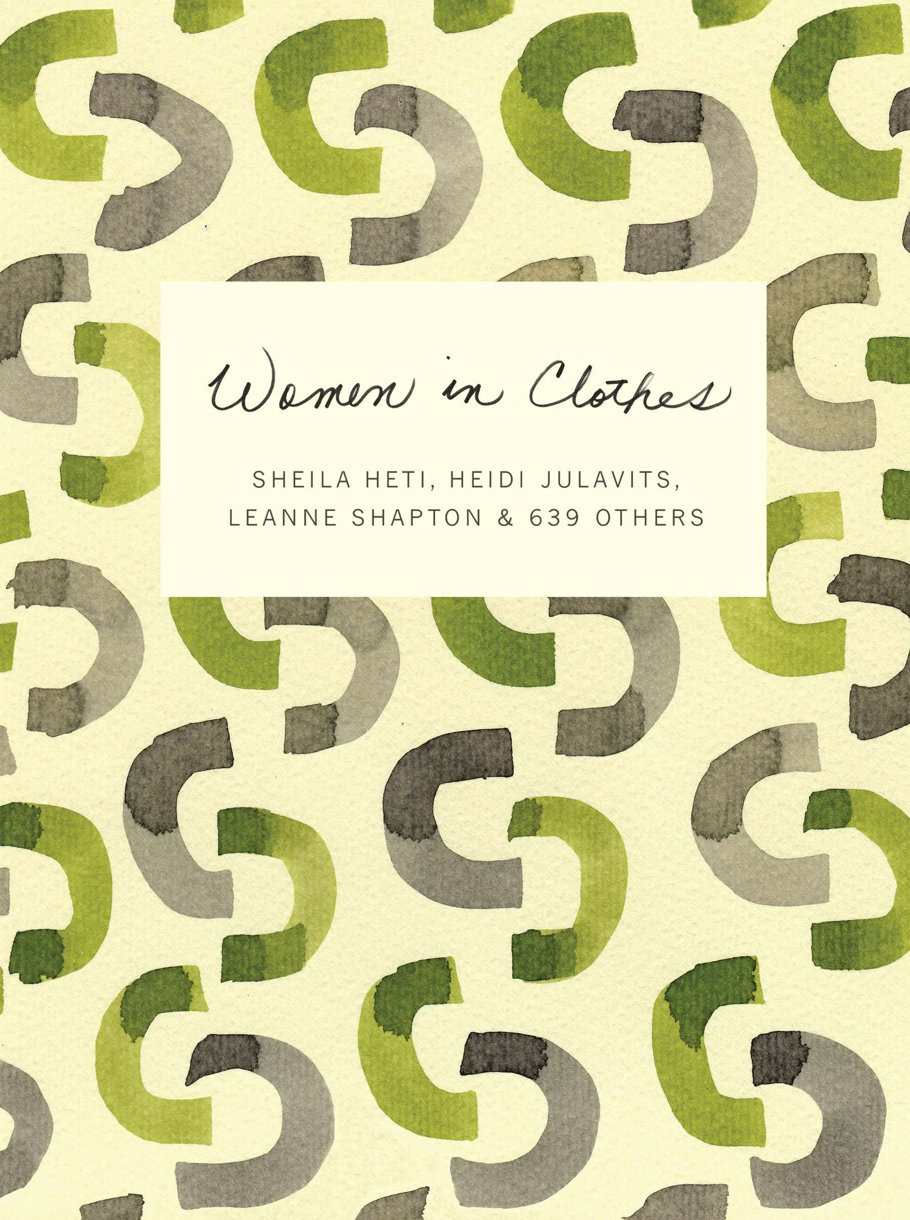 d6b722a750 Amazon.fr - Women in Clothes - Sheila Heti