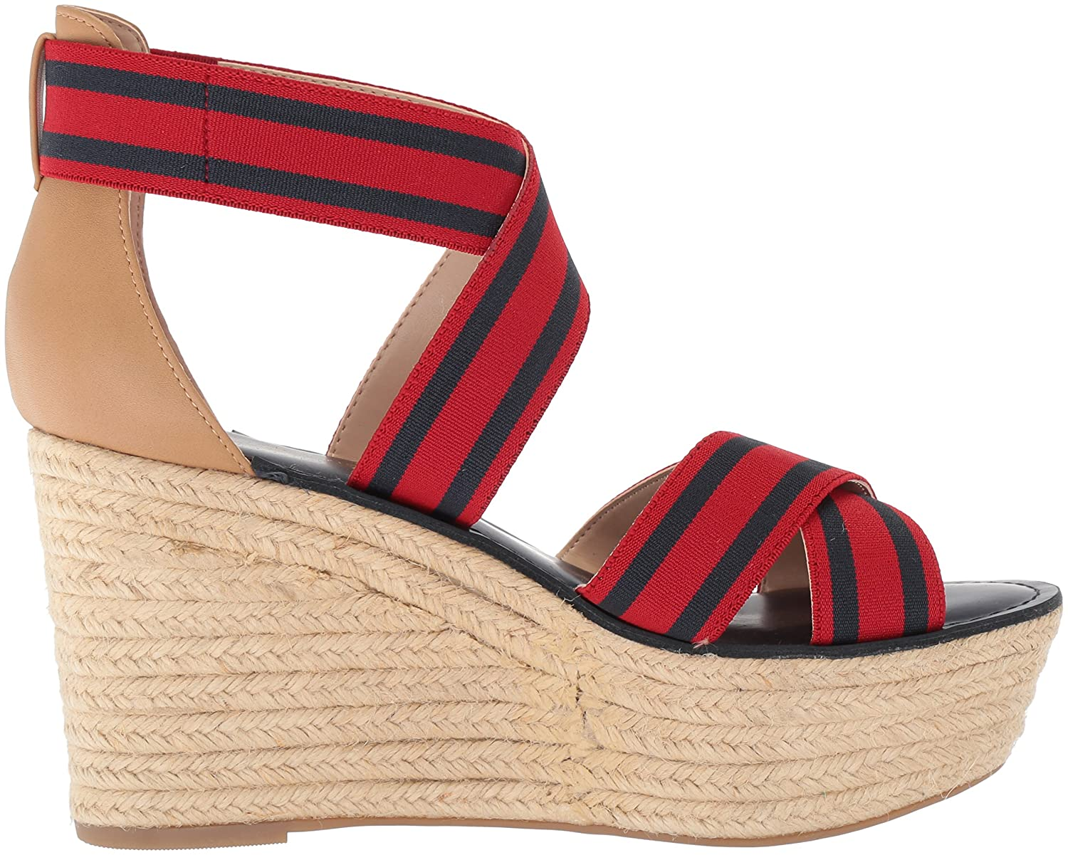 5be10202 Amazon.com | Tommy Hilfiger Women's Theia Espadrille Wedge Sandal |  Platforms & Wedges