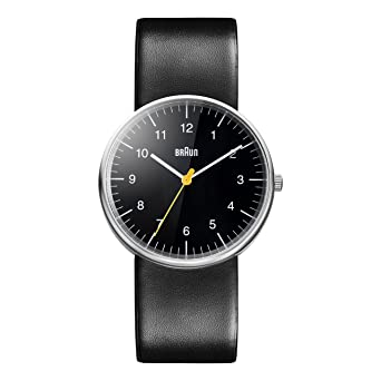 0e2b7e04614 Amazon.com  Braun Men s BN0021BKBKG Classic Stainless Steel Watch ...