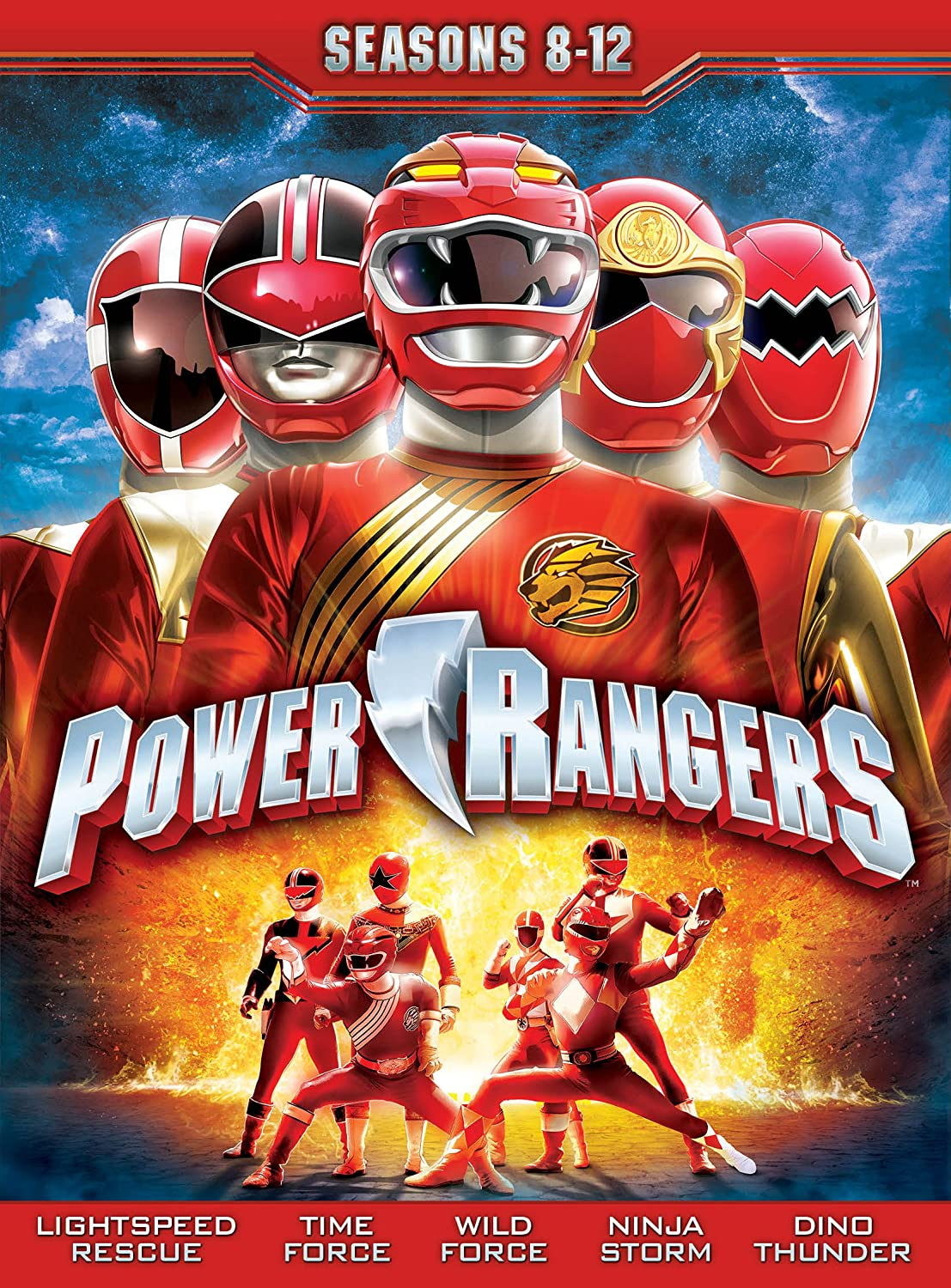Amazon.com: Power Rangers: Seasons Eight - Twelve: Tracy ...