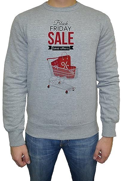 Black Friday Sale Hombre Sudadera Jersey Pullover Gris Todos Los Tamaños | Mens Sweatshirt Jumper Pullover