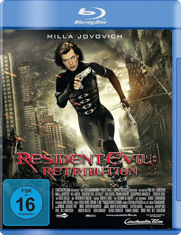 Resident Evil: Retribution [Alemania] [Blu-ray]: Amazon.es: Jovovich, Milla, Guillory, Sienna, Rodriguez, Michelle, Durand, Kevin, Li, Bingbing, Urb, Johann, Fehr, Oded, Anderson, Paul W.S., Jovovich, Milla, Guillory, Sienna: Cine y Series TV