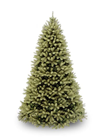 National Tree 7.5 Foot U0026quot;Feel Realu0026quot; Downswept Douglas Fir Tree,  Hinged (