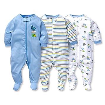 670fb499310c Amazon.com   Gerber Sleep N  Play 0-3 Months Baby Boys Dinosaur ...