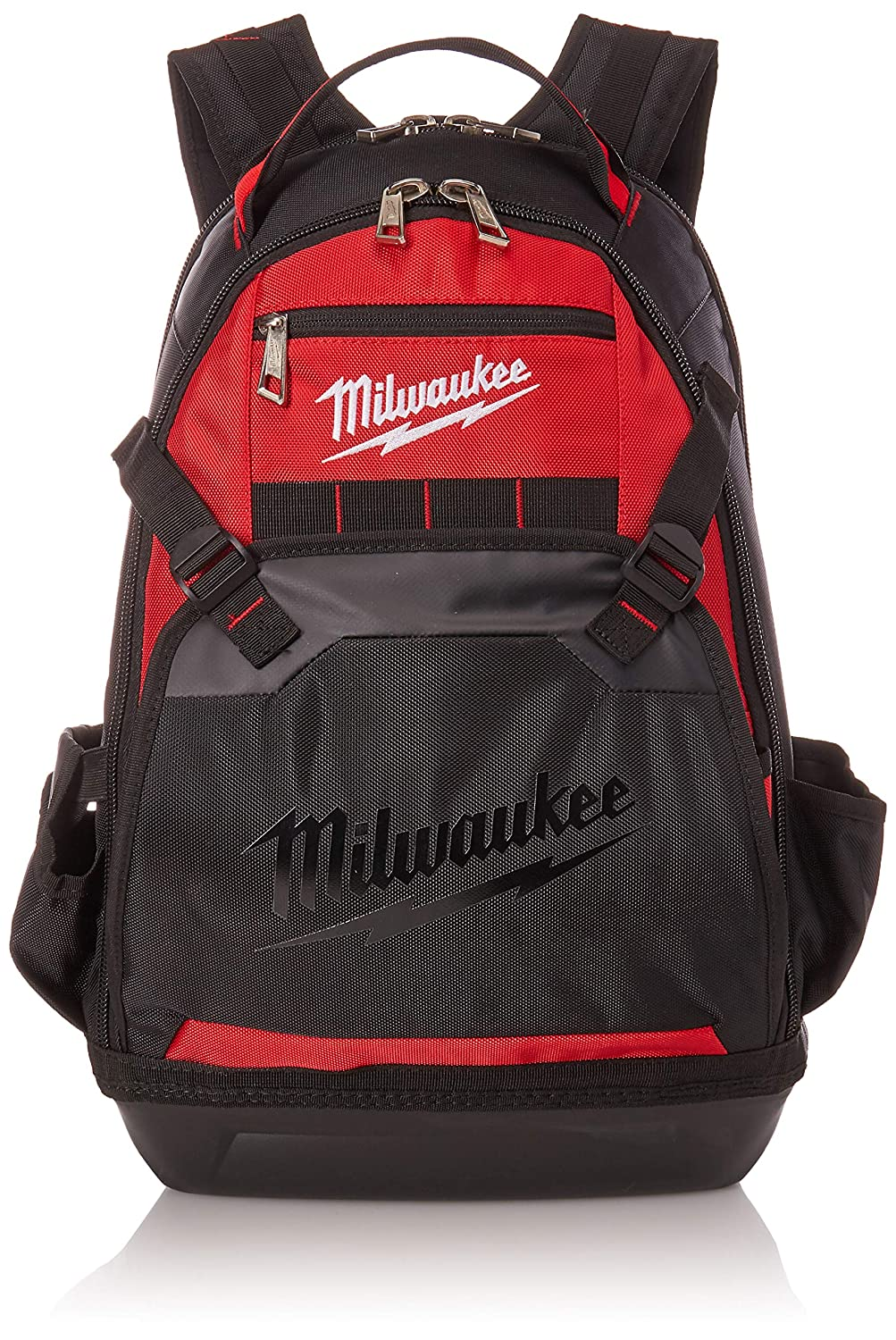 Milwaukee 48-22-8200 1680 Denier 35 Pocket Jobsite Backpack w/ Laptop Sleeve and Molded Plastic Base