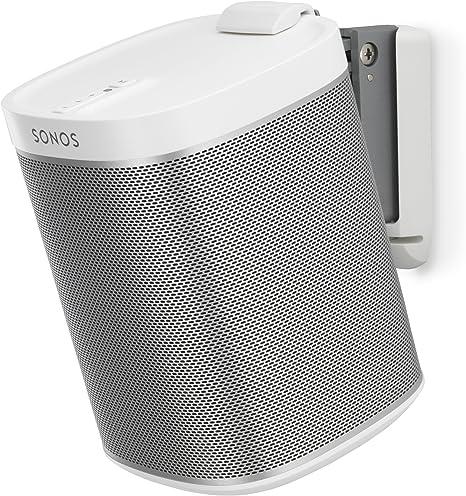 Blanco Par Flexson Soporte Pared Altavoz para Sonos One y Sonos PLAY:1