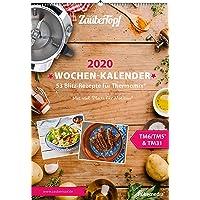 meinZauberTopf Wochenkalender 2020 für den Thermomix ® TM5® TM31 TM6