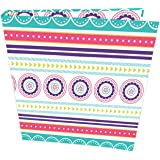 """bloom daily planners Binder (+) 3 Ring Binder (+) 1 Inch Ring (+) 10"""" x 11.5"""" - Medallions"""