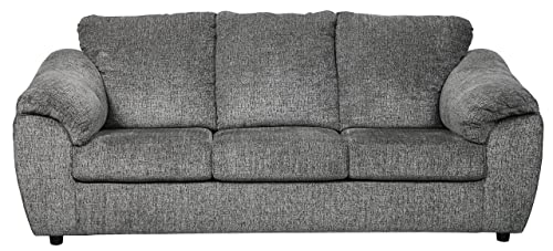 Ashley Furniture Signature Design – Azaline Contemporary Sofa Sleeper – Full Size Mattress – Slate