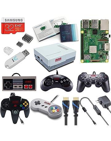 V-Kits Raspberry Pi 3 Model B+ (B Plus) Retro Arcade Gaming Kit