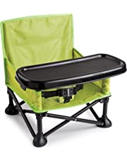 Summer Infant Pop 'N Sit Portable Booster, Green
