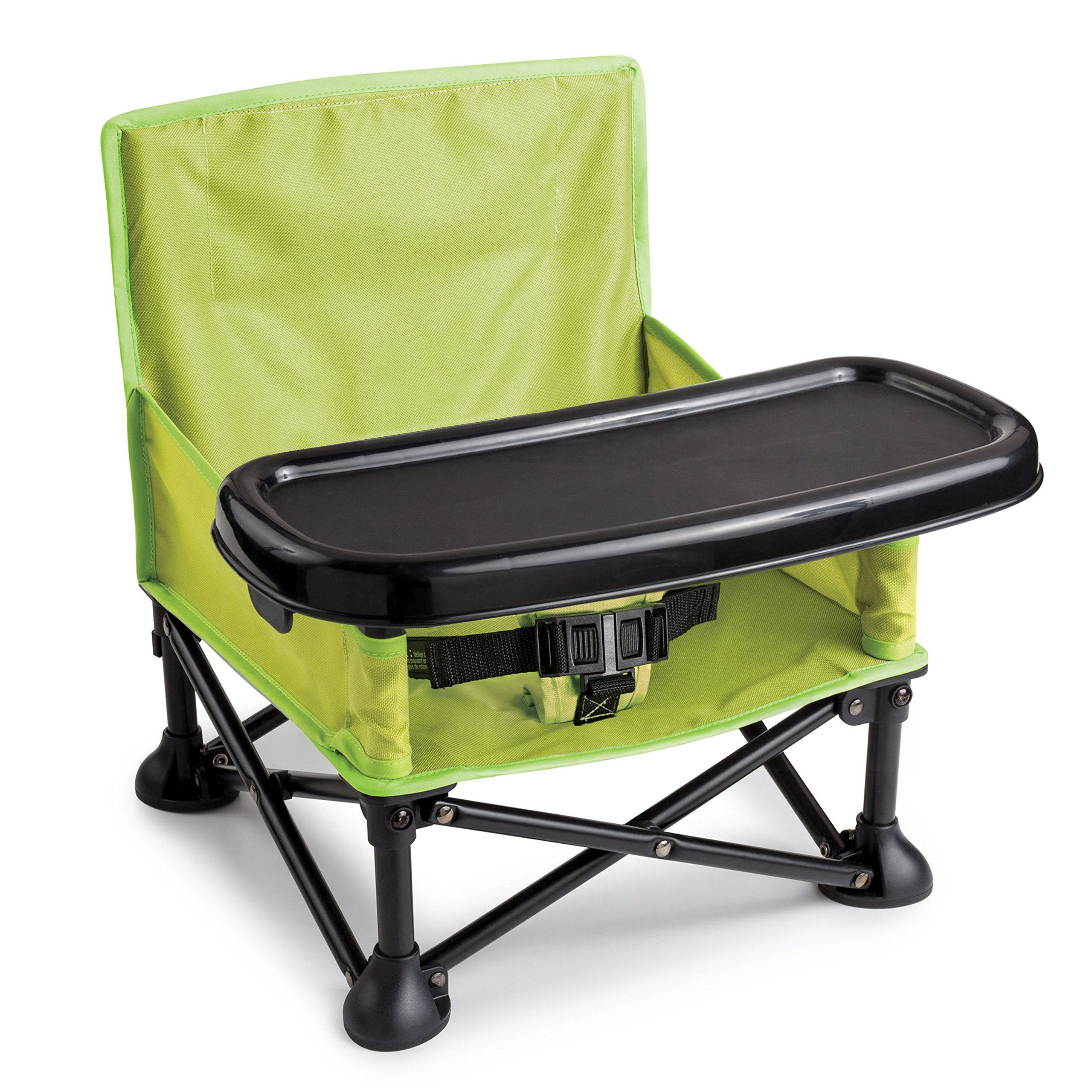 Summer Infant Pop and Sit Portable Booster, Green/Grey by Summer Infant