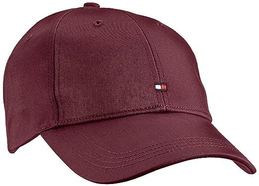6ee80303 Tommy Hilfiger Men's Classic BB Cap Baseball, Red-Rot (Sassafras-PT 929