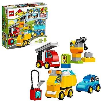 bf36460f7 LEGO Duplo - Mis Primeros vehículos (10816): Amazon.es: Juguetes y juegos