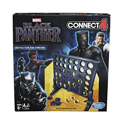 Connect 4 Game: Black Panther Edition: Toys & Games