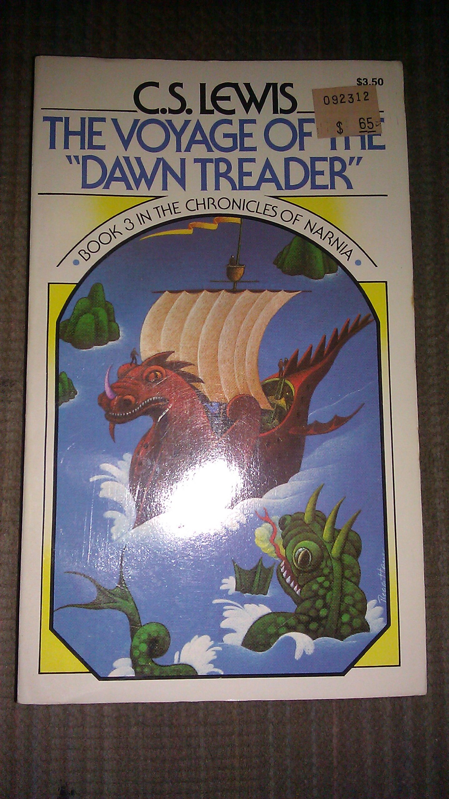 the voyage of the dawn treader chronicles of narnia book 3