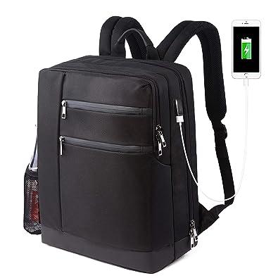 258f54cd8561 Hacaso リュック ビジネスリュック バックパック リュックザック USBポート搭載 大容量25-35L