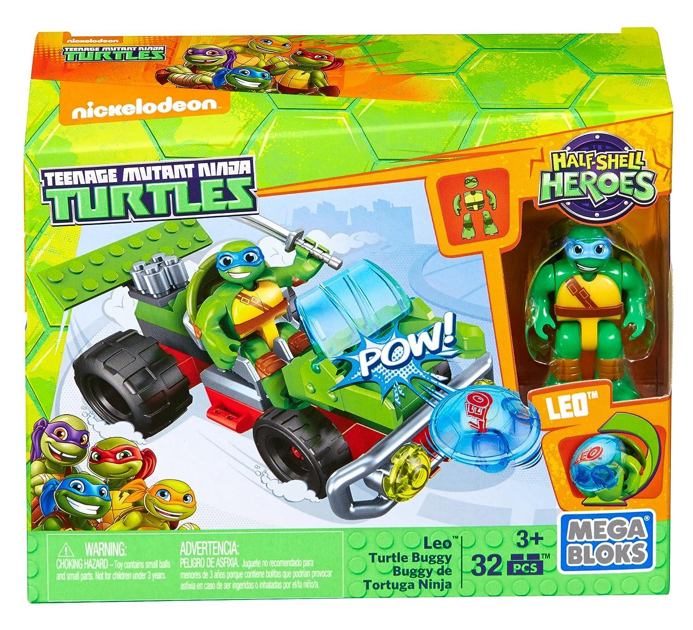 Mega Bloks - Tortugas Ninja Mutantes Adolescentes, Leo con ...