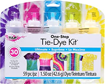Tulip One-Step 5 Color Ultimate, Kit tinte para ropa, 5 ...