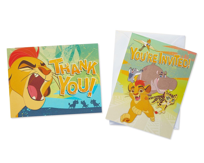 American Greetings Las invitaciones de guardia de león y ...