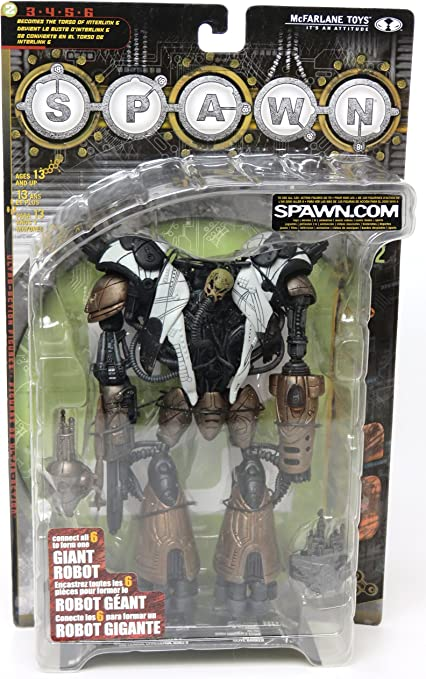 Spawn Series 18 Interlink 6 Torso TS2 of Giant Robot
