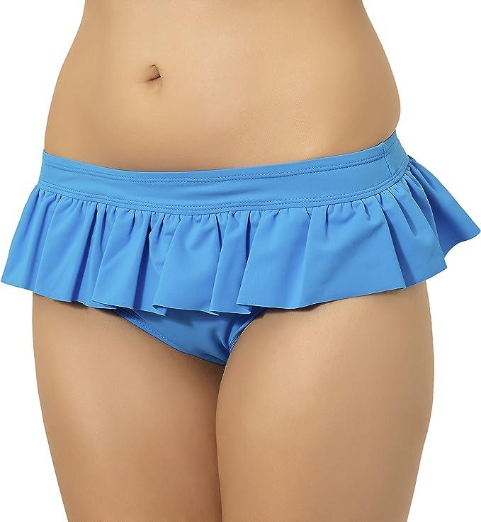 Merry Style Bragas de Bikini con Mini Falda Tul Trajes de Baño ...