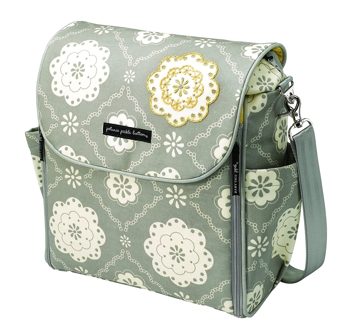 Amazon Com Petunia Pickle Bottom Boxy Backpack Tea On The Thames Diaper Tote Bags Baby