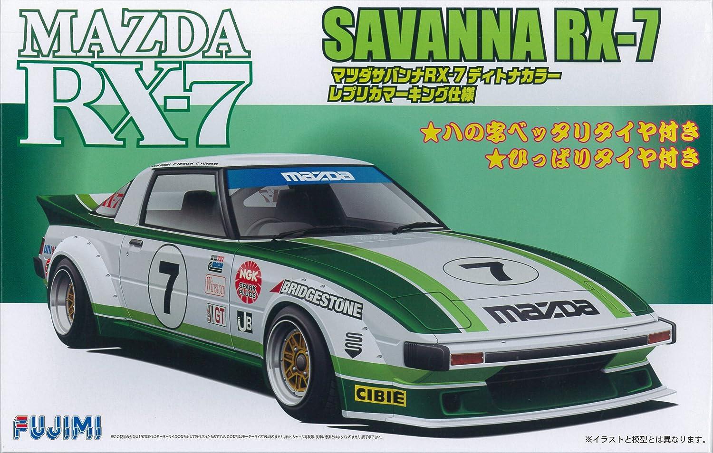 1/24 Inch Series SPOT-No.78 Mazda Savanna RX-7 SA22C Typ Renn Daytona Farbe