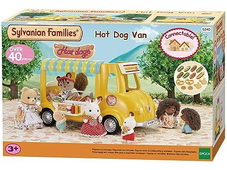 SYLVANIAN FAMILIES Hot Dog Van Mini Muñecas Y Accesorios Epoch para Imaginar 5240