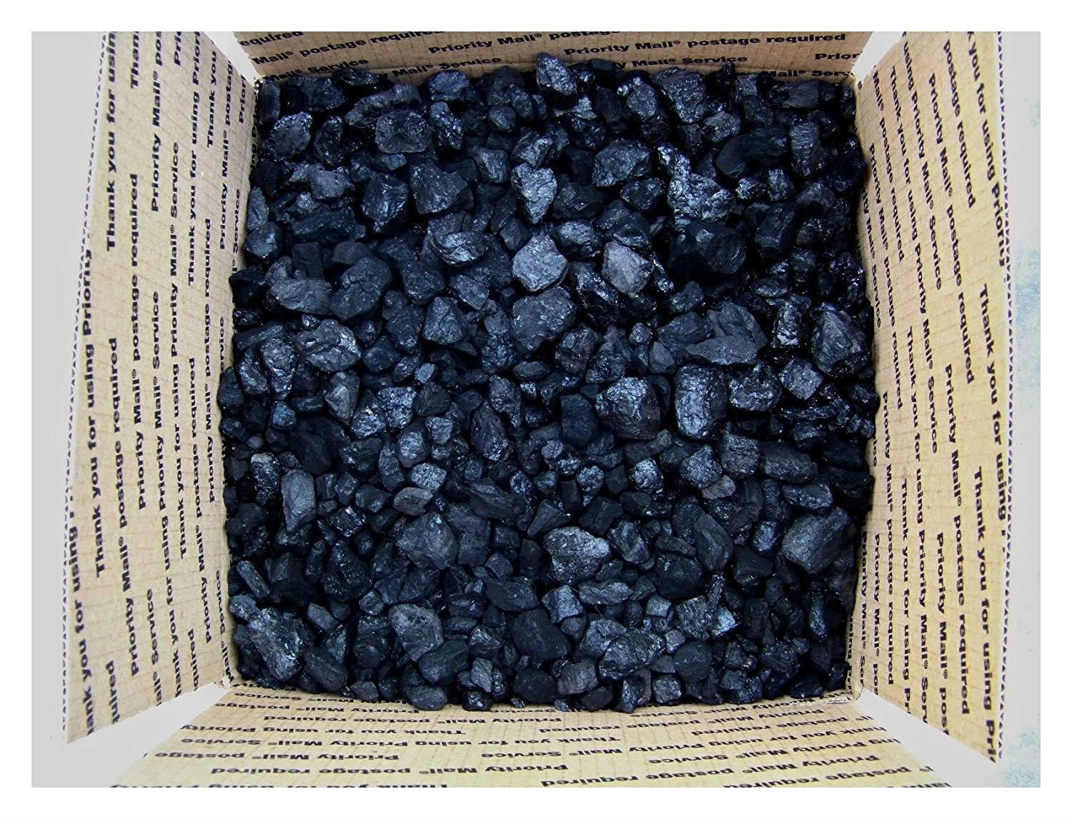 BITUMINOUS BLACKSMITH COAL METALLURGICAL COKING COAL 1/2 CUBIC FT ABOUT 25 LBs. US Seller na