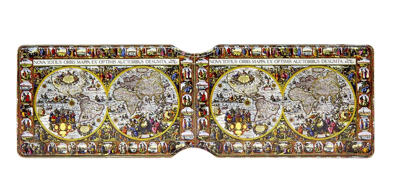 Urbanholder Antike Weltkarte Oyster Kartenetui