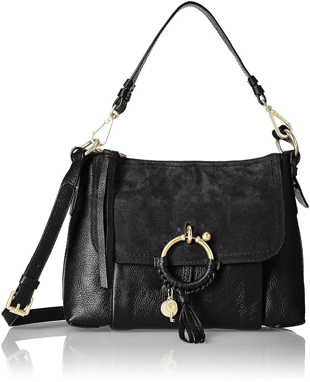 db3548cc Amazon.com: See by Chloe Women's Joan Shoulder Bag, Black, One Size ...