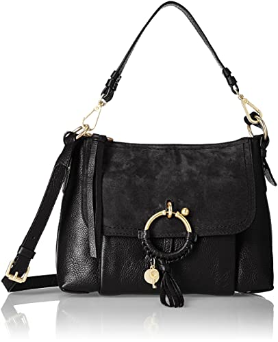 c860d8dd1a3a7 Amazon.com: See by Chloe Women's Joan Shoulder Bag, Black, One Size ...