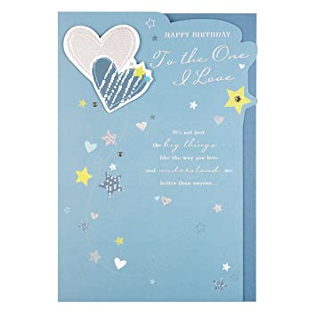 Hallmark One I Love Birthday Card Little Things