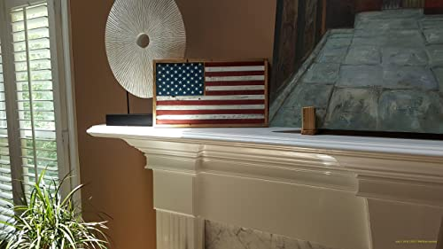 Barn Wood America Flag Small