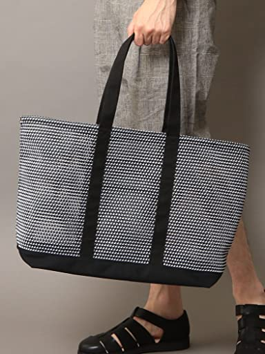 Mesh Tote Bag 1432-699-4699: Black